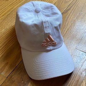Adidas   White 'Saturday' Cap